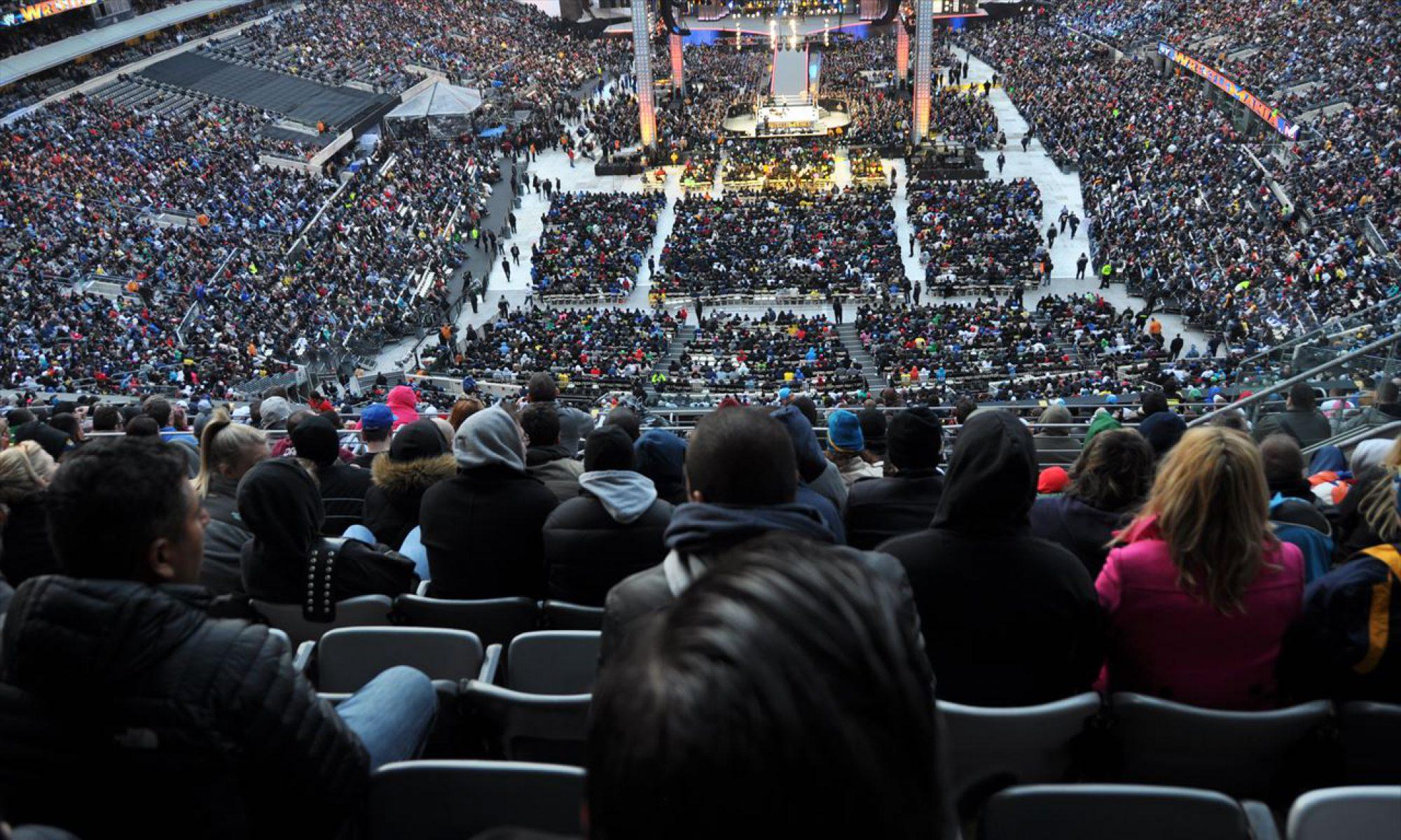 WWEを観に行こう!